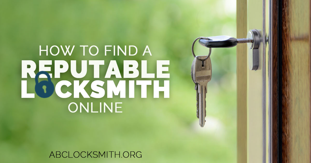How To Find A Reputable Locksmith Online