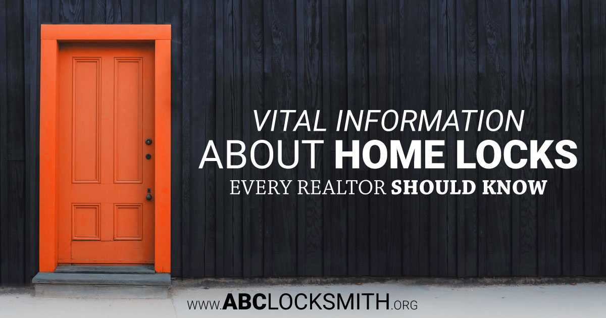 Vital Information About Home Locks Every Realtor Should Know